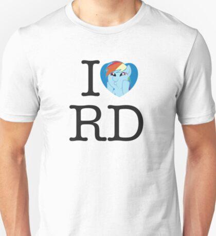 I <3 Rainbow Dash T-Shirt
