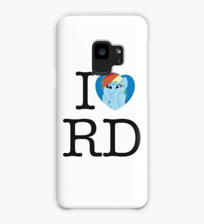 I <3 Rainbow Dash Case/Skin for Samsung Galaxy