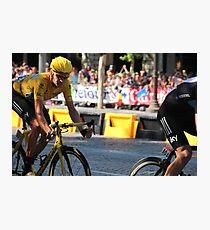 Bradley Wiggins - Tour de France 2012 in Paris Photographic Print