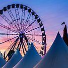 Ferris Wheel - Royal Melbourne Show by Joel McDonald