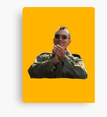 Taxi Driver - Applause Canvas Print