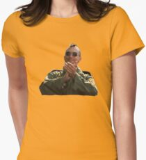 Taxi Driver - Applause Womens Fitted T-Shirt