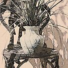 Plant with Chair by Ginny Schmidt