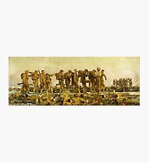 Gassed by John Singer Sargent Western Front World War I  Photographic Print