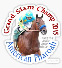 American Pharoah Grand Slam Champ 2015 Sticker