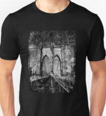Camiseta unisex Brooklyn Bridge 1883