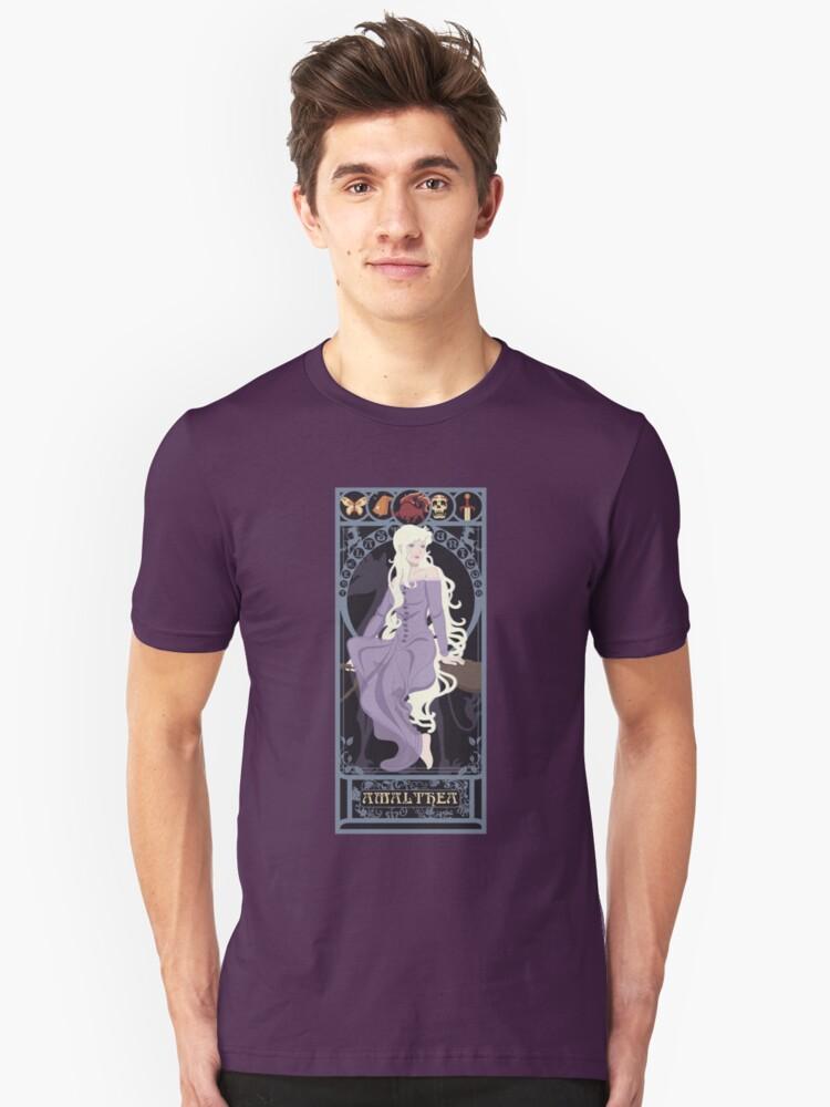 Amalthea Nouveau - The Last Unicorn Unisex T-Shirt Front