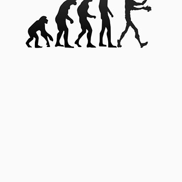 Human evolution - Evolve or die by TeeArt
