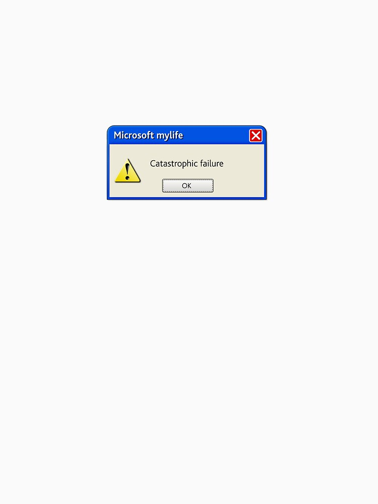 Microsoft MyLife Catastrophic Failure by 28andsunny