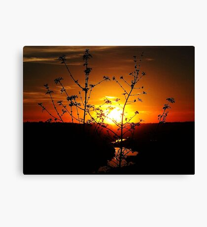 Sensational Sunset Canvas Print