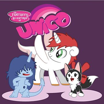 My Little Unico by CptnLaserBeam