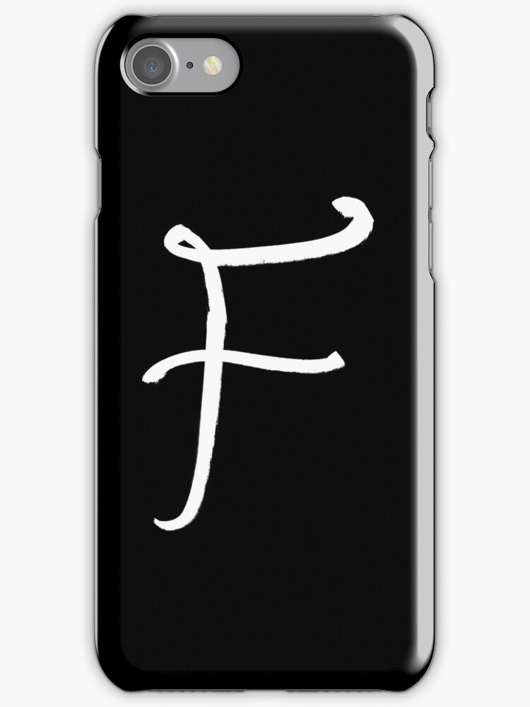 The Letter F by alphabeautiful