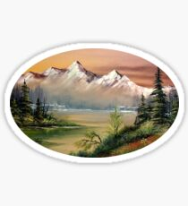 Prince William Sound Alaska Springtime Sticker