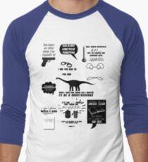 Peter Bishop Quotes Men's Baseball ¾ T-Shirt