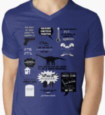 Peter Bishop Quotes Men's V-Neck T-Shirt