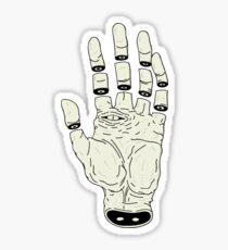 THE HAND OF DESTINY / LA MANO DEL DESTINO Sticker