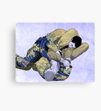 The Ground is my Ocean blue Canvas Print