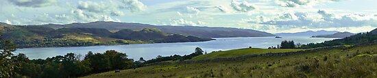 Loch Fyne in September by maekstar