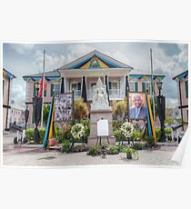 Parliament House in Rawson Square - Nassau, The Bahamas Poster