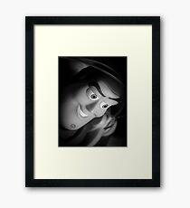 Portrait Of A Space Ranger Framed Print