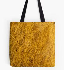 Yellow Weed Tote Bag