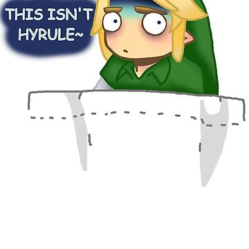 """""""THIS ISN'T HYRULE"""" Link in a Pocket by ravegirl13xd"""