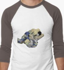 The Ground is my Ocean Men's Baseball ¾ T-Shirt