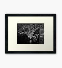 Music Nature: Rock 2 Framed Print