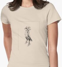 Dobby Womens Fitted T-Shirt