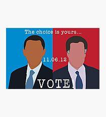 2012 Election Photographic Print