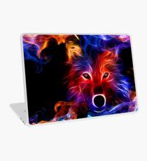 Fire Wolf Laptop Skin