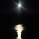 Moonlit Lake by HeavenOnEarth
