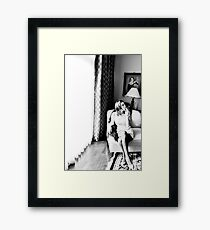 Lounge Framed Print