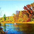 Mount Morris Lake In Wisconsin by VJSheldon