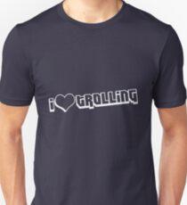 I love Trolling shirt (white) Unisex T-Shirt