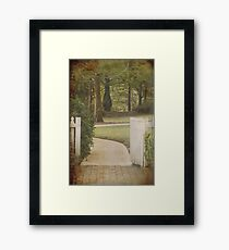 Pursue some path... Framed Print