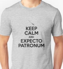 Keep Calm and Expecto Patronum Unisex T-Shirt