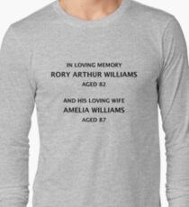 A Fixed Point In Time Long Sleeve T-Shirt