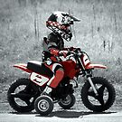 Motocross training starts early! by David Owens