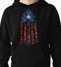 Old World Glory Destroyed Pullover Hoodie