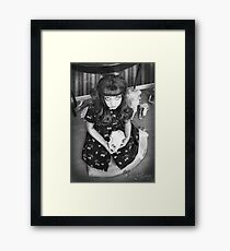 """""""Doll Face"""" Framed Print"""