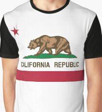 California Flag Graphic T-Shirt