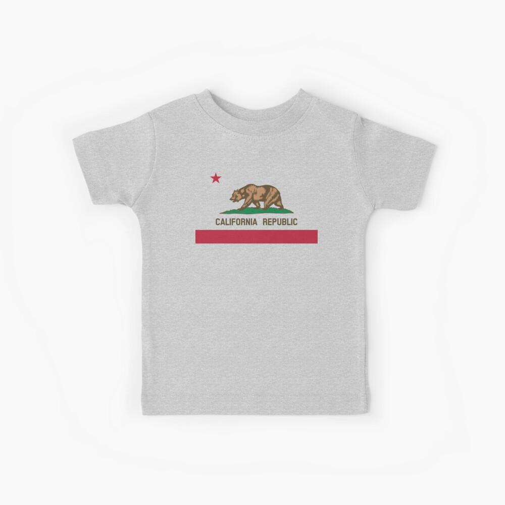 Bandera de California Camiseta para niños