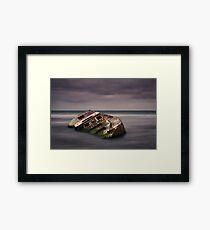 Shipwrecked - Carpenter Rocks South Australia Framed Print