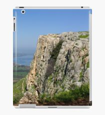 Israel, Galilee, Arbel mountain and Sea of Galilee iPad Case/Skin