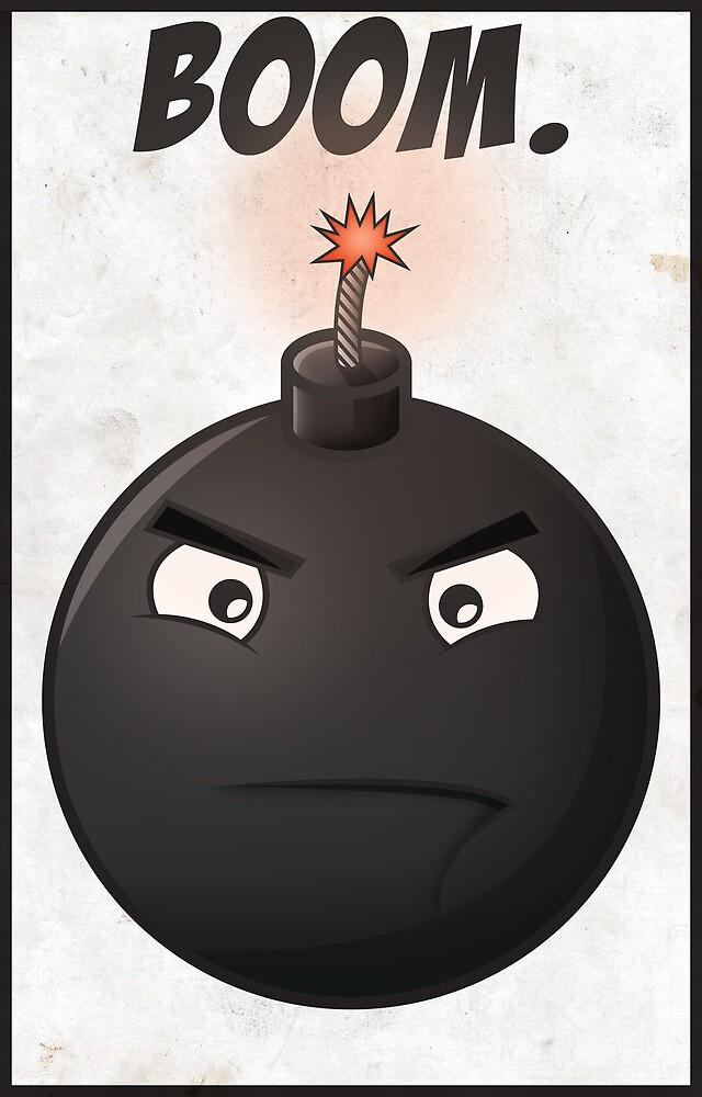 'Boom'// poster by samdesigns