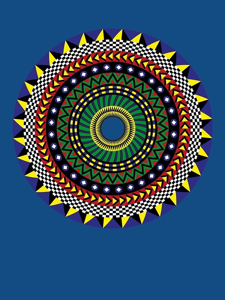 Trippy Mandala by dukepope