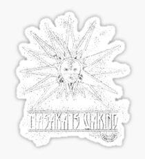 Masaka Is Waking Sticker
