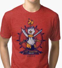 CAP.COMMANDO Tri-blend T-Shirt
