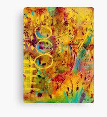 Brushstrokes Canvas Print